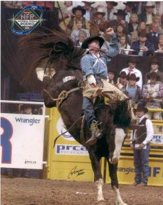 National Finals Rodeo in Las Vegas, 2004.