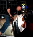Even the common man can try his hand at riding the bull, at least the mechanical kind. They tend to be much safer!